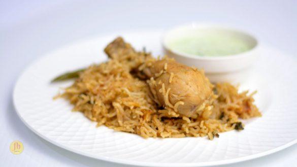 Junglee Chicken pulao