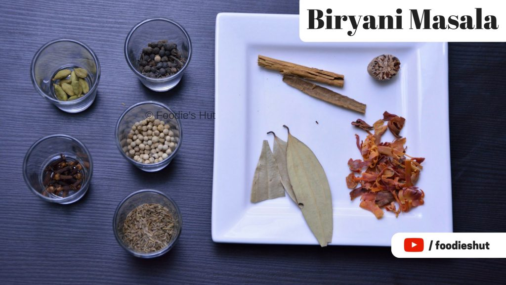 Biryani Masala - recipe by Foodie's Hut