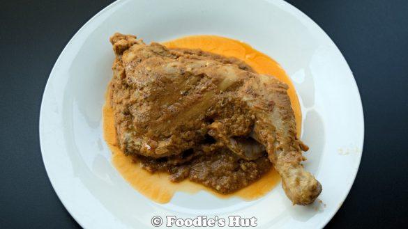 Chicken Chaap recipe by Foodie's Hut